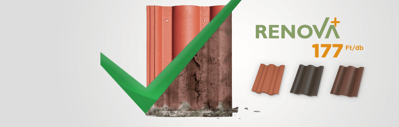 Renova<sup>+</sup> A felújítás tetőcserepe